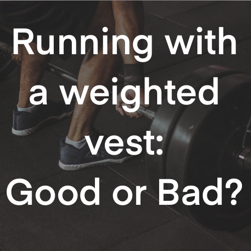 Intro picture for weight vest article (pros and cons)